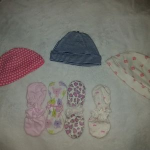 Infant Beanies & Mittens